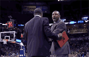 GIF : Doc Rivers balance un gros F*** à un arbitre