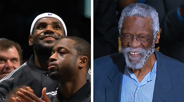 Bill Russell remercie LeBron James de l'avoir snobé