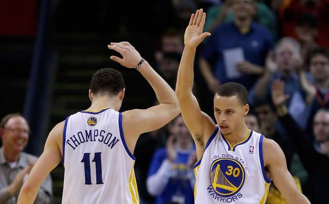 Les superstars des Warriors cumulent 57 points contre les Lakers