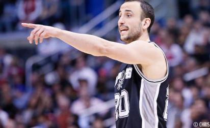 Highlights : Manu Ginobili guide les Spurs (23 pts, 5 passes)