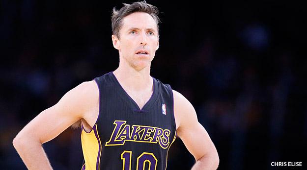 Steve Nash était convoité par les Lakers et les Suns