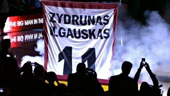 Vidéo : L'hommage des Cavs à Zydrunas Ilgauskas