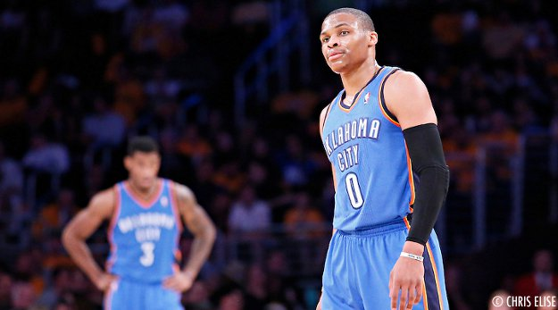 Malgré Russell Westbrook, les Blazers dominent le Thunder