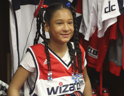 Les Wizards recrutent une jeune fille de 10 ans