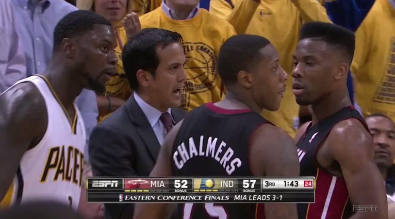 Culte : Lance Stephenson s'incruste avec les joueurs du Heat