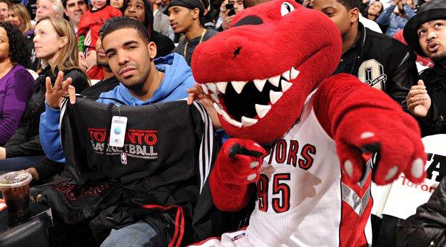 Drake veut devenir le proprio des Toronto Raptors