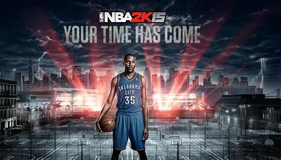 NBA 2K15 : La note de Kevin Durant annoncée