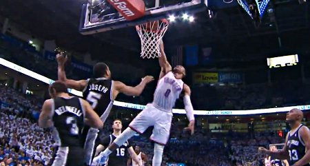 Top 5 : Russell Westbrook est partout !
