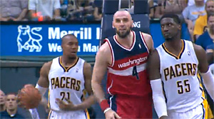 Highlights : Marcin Gortat (31 pts, 16 rbs) assomme les Pacers
