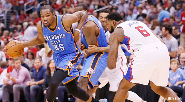 Highlights : Kevin Durant achève les Clippers (39 points, 16 rebonds)