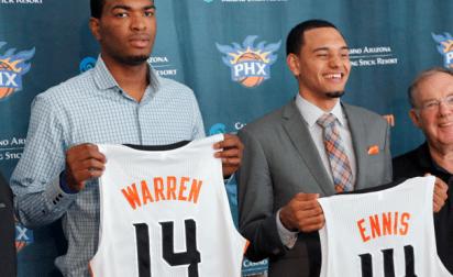 La D-League trop facile pour les rookies des Suns