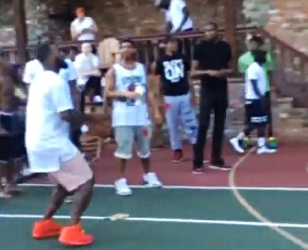 Quand Kevin Durant perd un pari avec The Game...