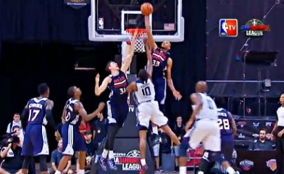 Top 10 : Wiggins et Payne au contre, Barton au alley-oop