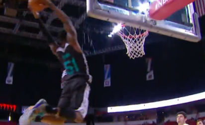 Top 10 : Blocks et alley-oops à gogo, Rice Jr est clutch