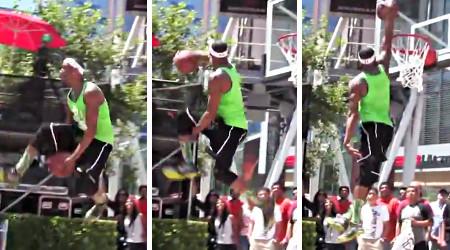 Vidéo : Chris Staples fait le show à Venice Beach