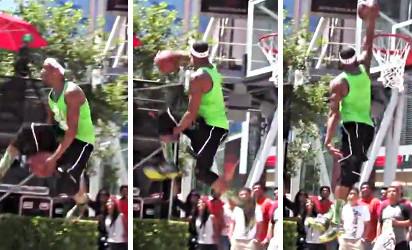 Totalement dingue ! Chris Staples remporte le concours de dunks des Espys
