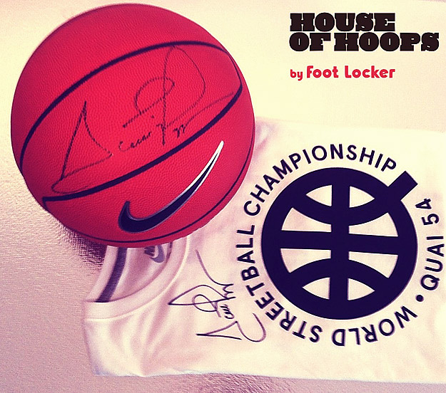 Jeu concours Scottie Pippen House of Hoops by Foot Locker : les gagnants