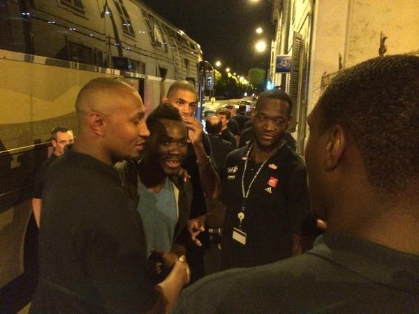 Yannis Morin et Yannick Bokolo partenaires d'entrainement des Bleus