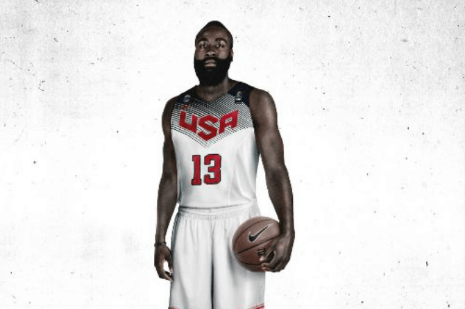 James Harden Team USA