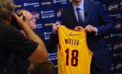 Mike Miller : «Le but est de gagner le titre avec Cleveland»