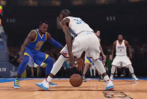 Les premières images de NBA2K15