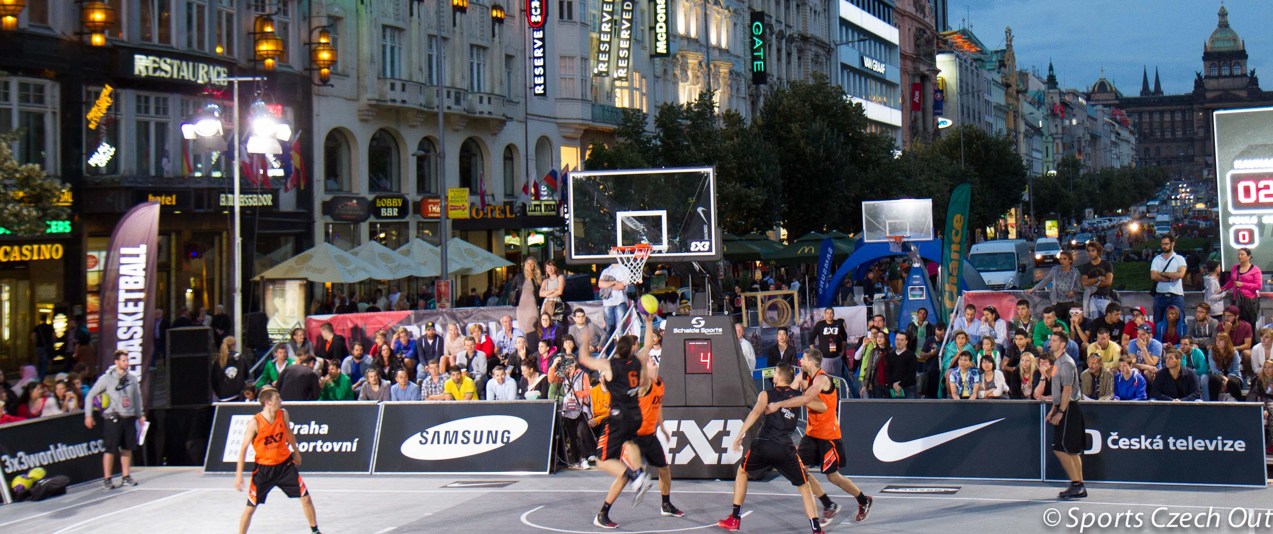 FIBA 3×3 World Tour: les Serbes de Novi Sad restent les maîtres à Prague