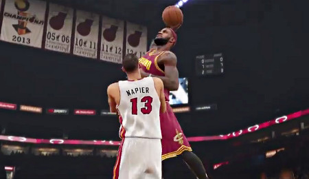 Mix LeBron James - NBA2K :