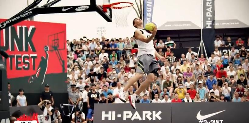 Vidéo : Dunk Contest FIBA 3x3 World Tour de Pékin