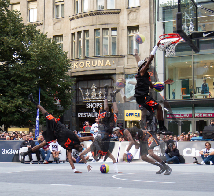 Vidéo : Dunk Contest FIBA 3×3 World Tour de Prague