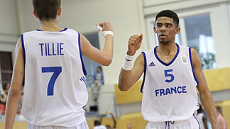 Les U16 français en finale de l'Euro