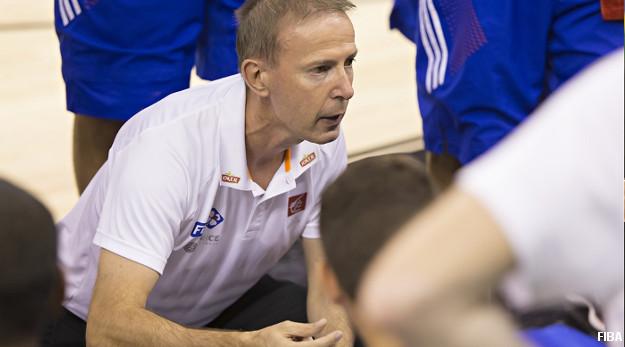 """Vincent Collet : """"Cette équipe mérite d'arracher le Bronze"""""""