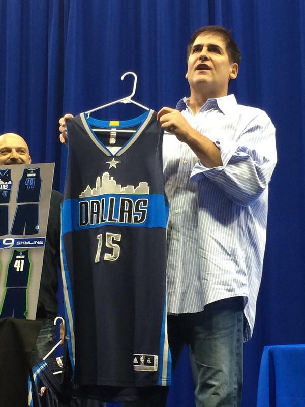 Dallas Mavericks : nouveau maillot pour 2015/2016