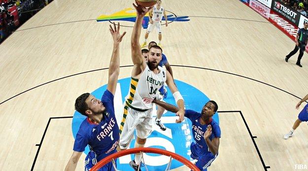 Top 5 FIBA : France Vs Lituanie