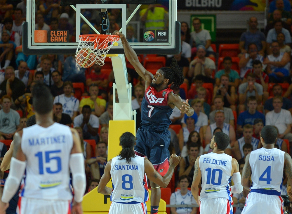 Top 5 FIBA : Kenneth Faried s'occupe de tout