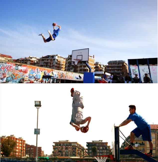 Vidéo : Les dunks acrobatiques des «Lords of Gravity»