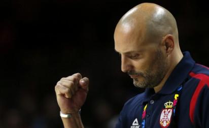 Sasha Djordjevic lâche son poste de sélectionneur de la Serbie