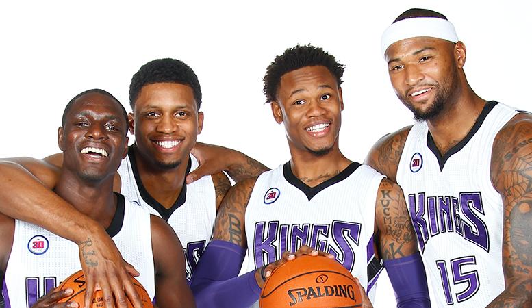 Le cinq incohérent des Sacramento Kings...