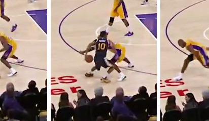 Vidéo : Alec Burks enrhume méchamment Kobe Bryant