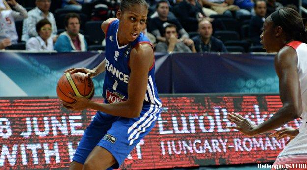 Sandrine Gruda manquera le dernier match des Bleues