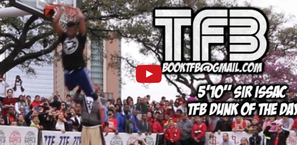 Vidéo : le dunk du jour signé Issac White