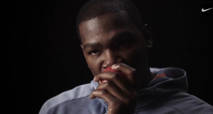 Vidéo : Kevin Durant compare sa sélection de shoot à un pommier