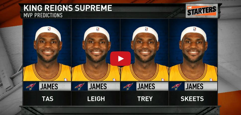 Vidéo : Qui sera le MVP de la saison régulière ?