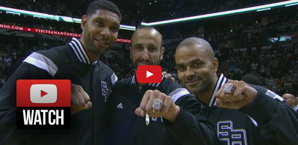 Highlight : Le Big 3 des Spurs est loin d'être mort