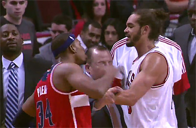 Accrochage Noah-Pierce : La NBA ne rigole pas