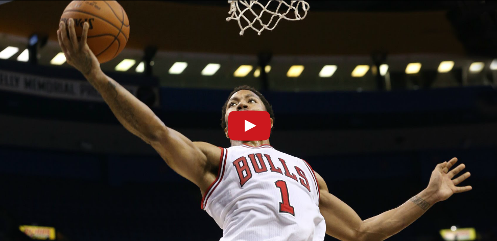 Highlights : Derrick Rose remporte son duel face à Damian Lillard
