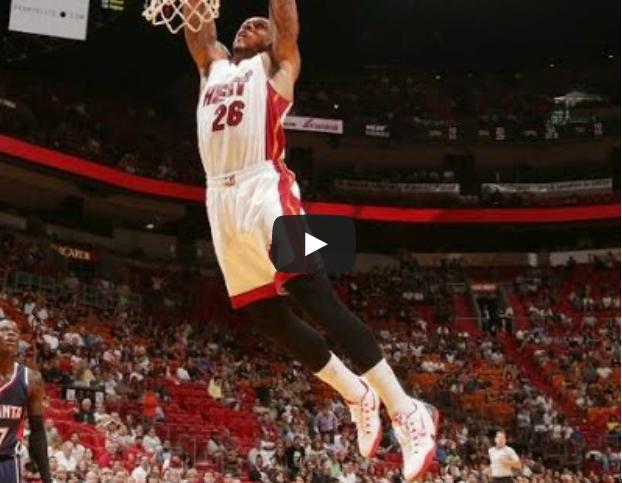 Vidéo : Shannon Brown s'envole avec le Heat