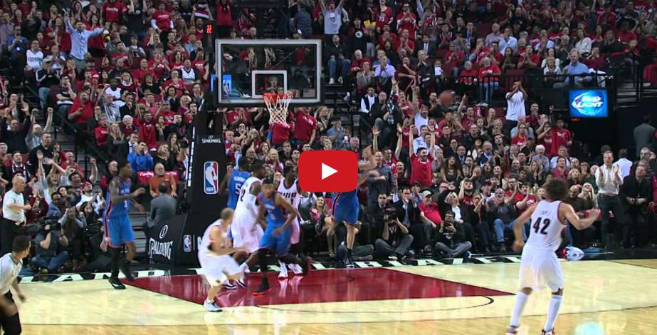 Vidéo : Russell Westbrook, le Buzzer Beater tout en puissance