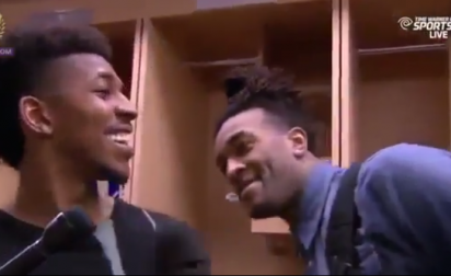 L'interview culte de Nick Young et Jordan Hill