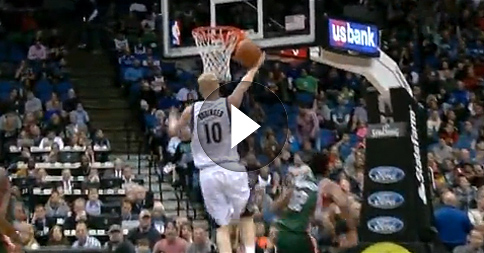 Epic Fail : Le lay up ridicule de Chase Budinger