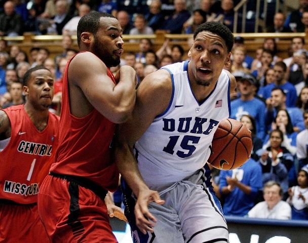 Jahlil Okafor, futur top pick, assure pour sa première avec Duke